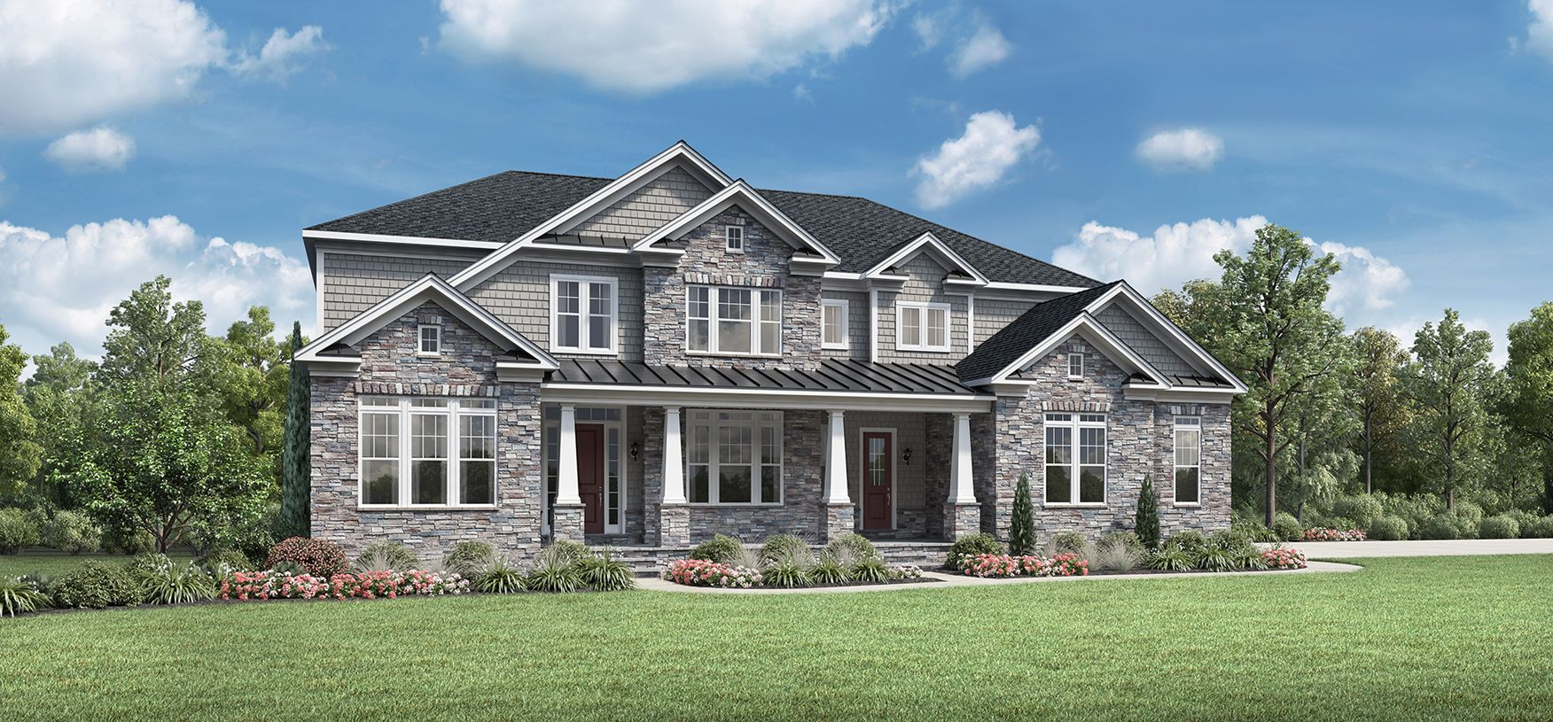 Exterior featured in the Windermere By Toll Brothers in Chicago, IL