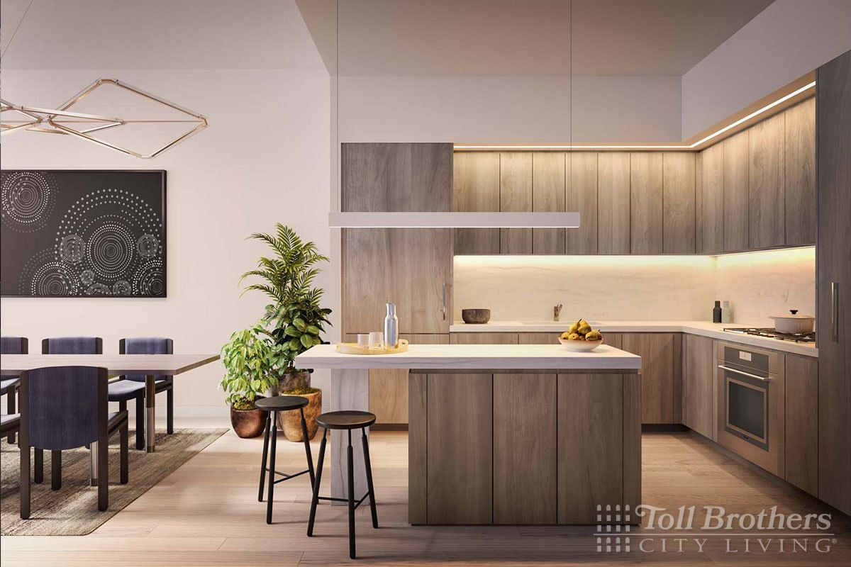Living Area featured in the S12C By Toll Brothers in New York, NY