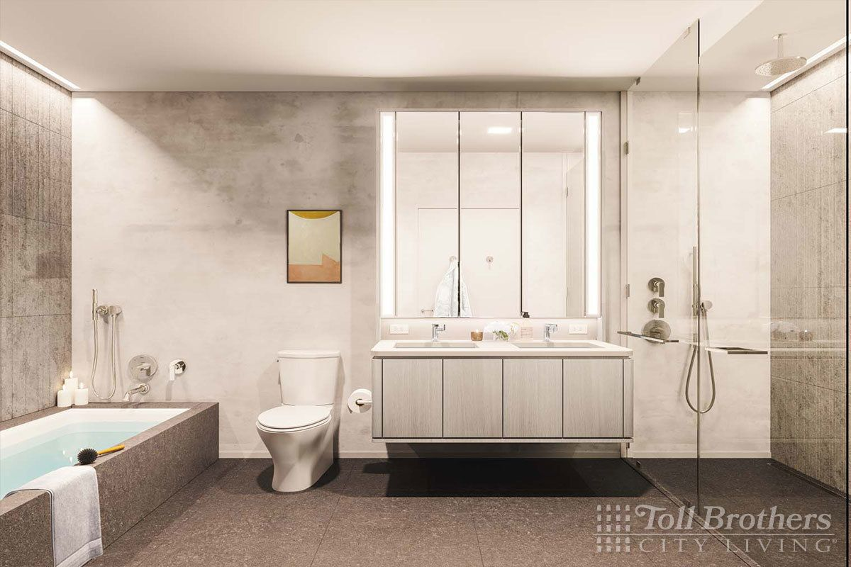 Bathroom featured in the S12C By Toll Brothers in New York, NY