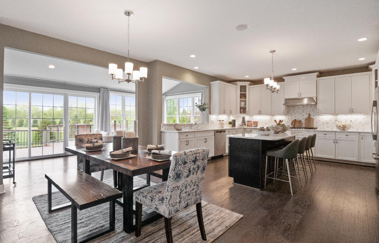 Kitchen featured in the Duke By Toll Brothers in Detroit, MI