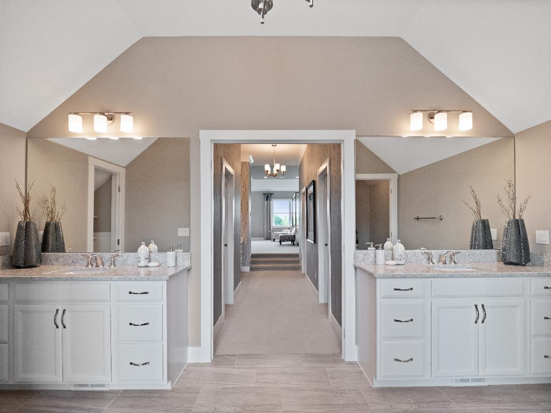 Bathroom featured in the Duke By Toll Brothers in Detroit, MI