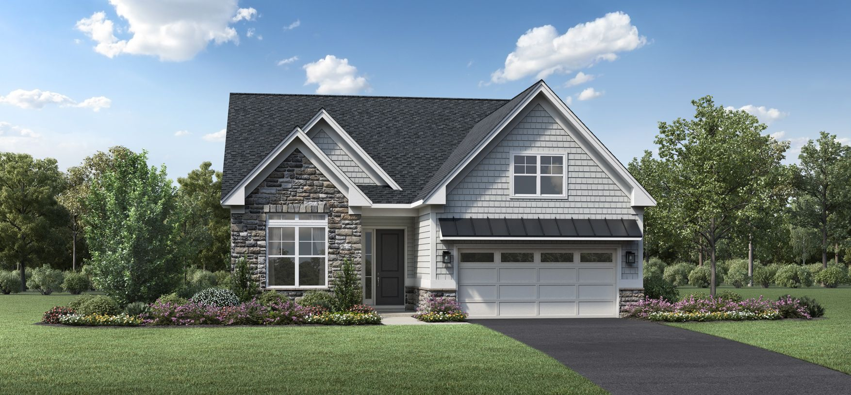 Exterior featured in the Fairlawn By Toll Brothers in Allentown-Bethlehem, PA
