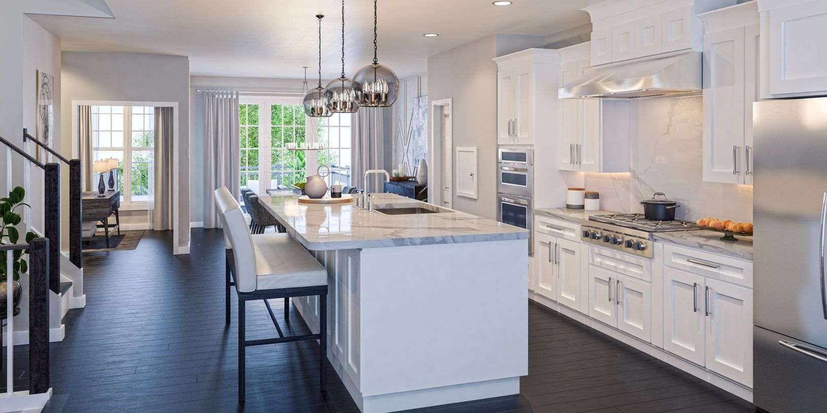 Kitchen featured in the Briercliff By Toll Brothers in Bergen County, NJ