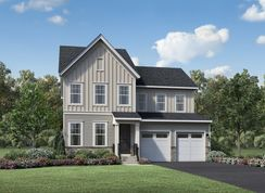 Hurley - Toll Brothers at Turf Valley - Single-Family Homes: Ellicott City, Maryland - Toll Brothers