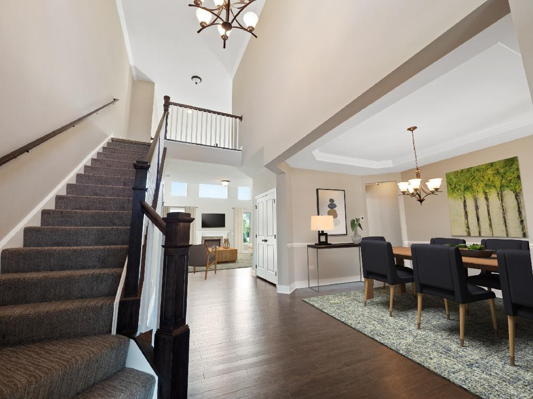 Living Area featured in the Palmerton By Toll Brothers in Bergen County, NJ