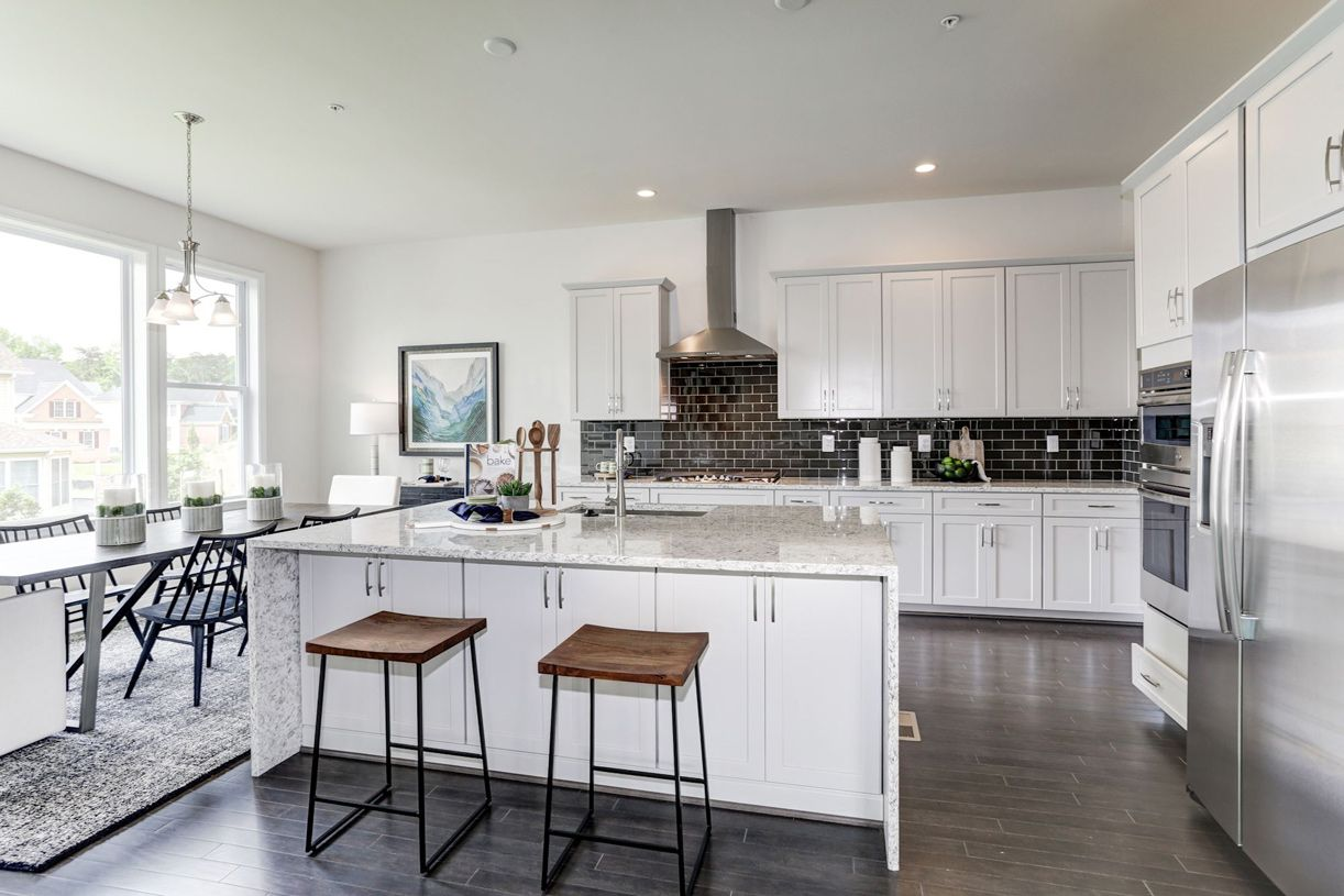Kitchen featured in the Raylen By Toll Brothers in Philadelphia, PA