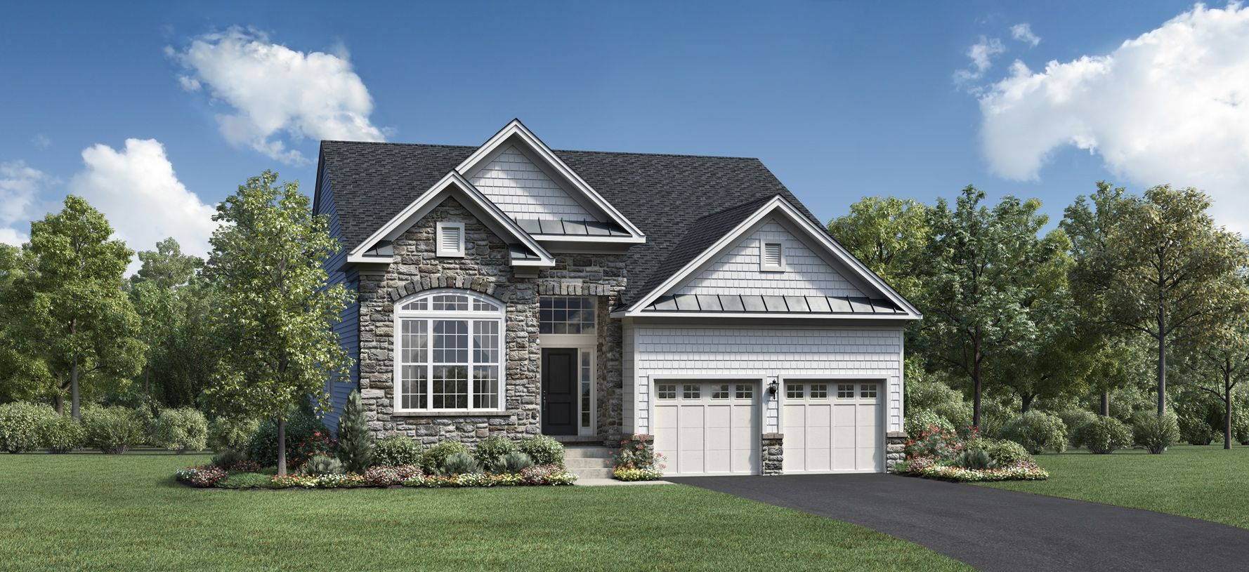 Exterior featured in the Binghamton By Toll Brothers in Danbury, CT