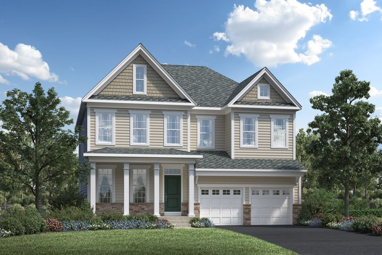 Exterior featured in the Pine Hill By Toll Brothers in Danbury, CT