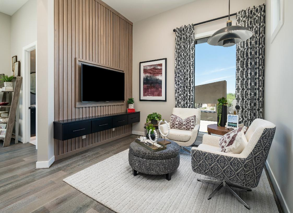 Living Area featured in the Mayne By Toll Brothers in Phoenix-Mesa, AZ
