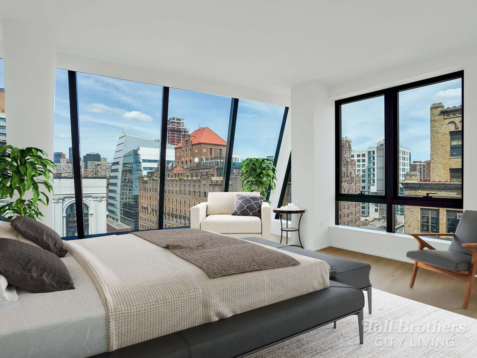 Bedroom featured in the N1304 By Toll Brothers in New York, NY