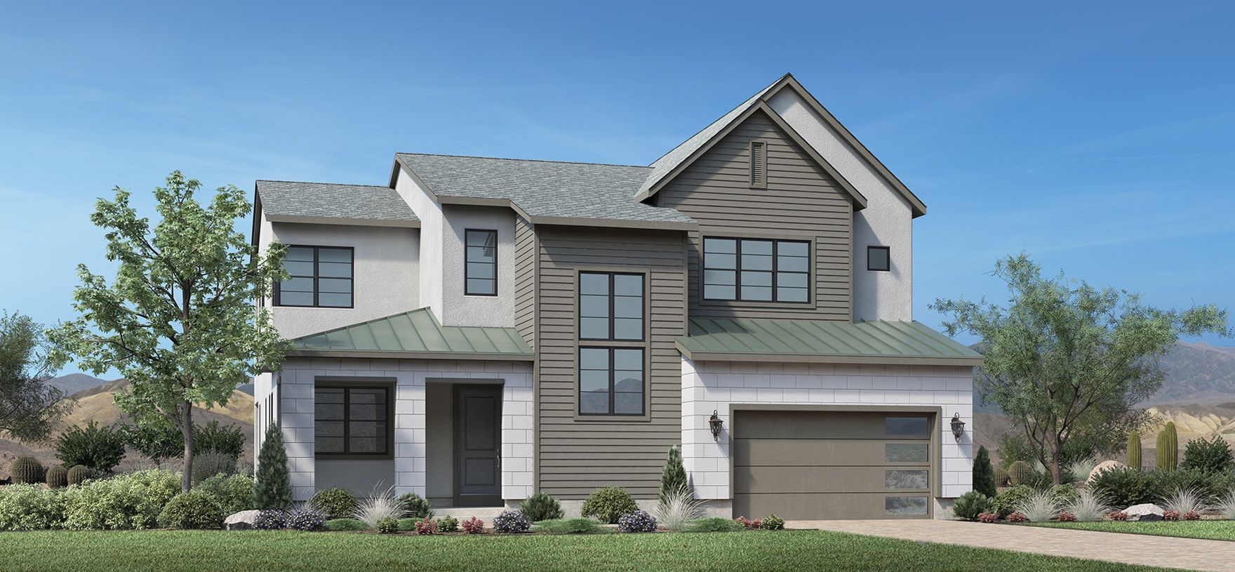 Exterior featured in the Durham By Toll Brothers in Reno, NV