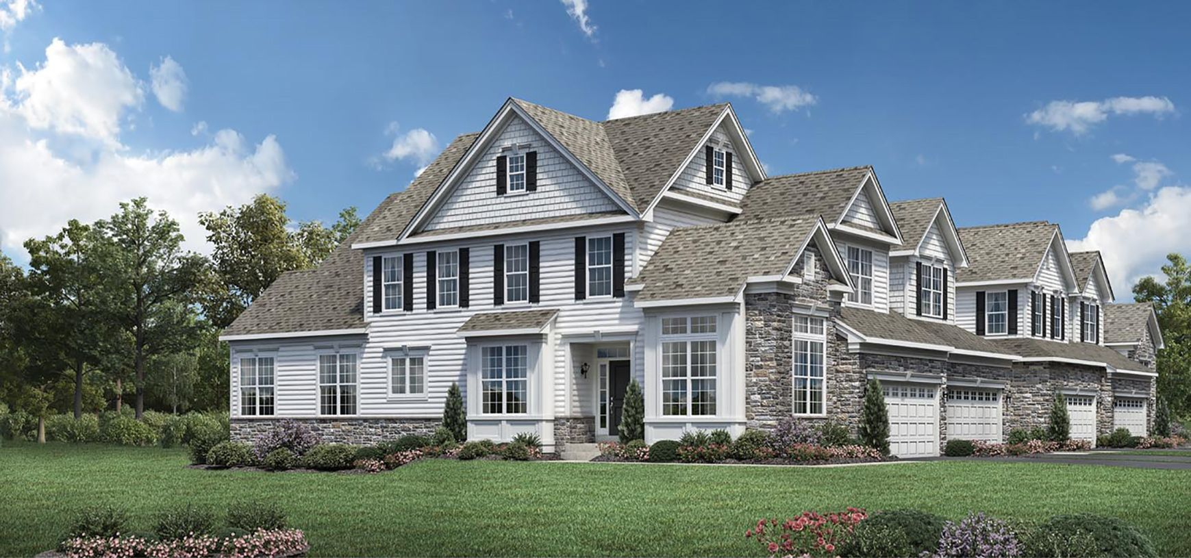 Exterior featured in the Brandeis By Toll Brothers in Philadelphia, PA