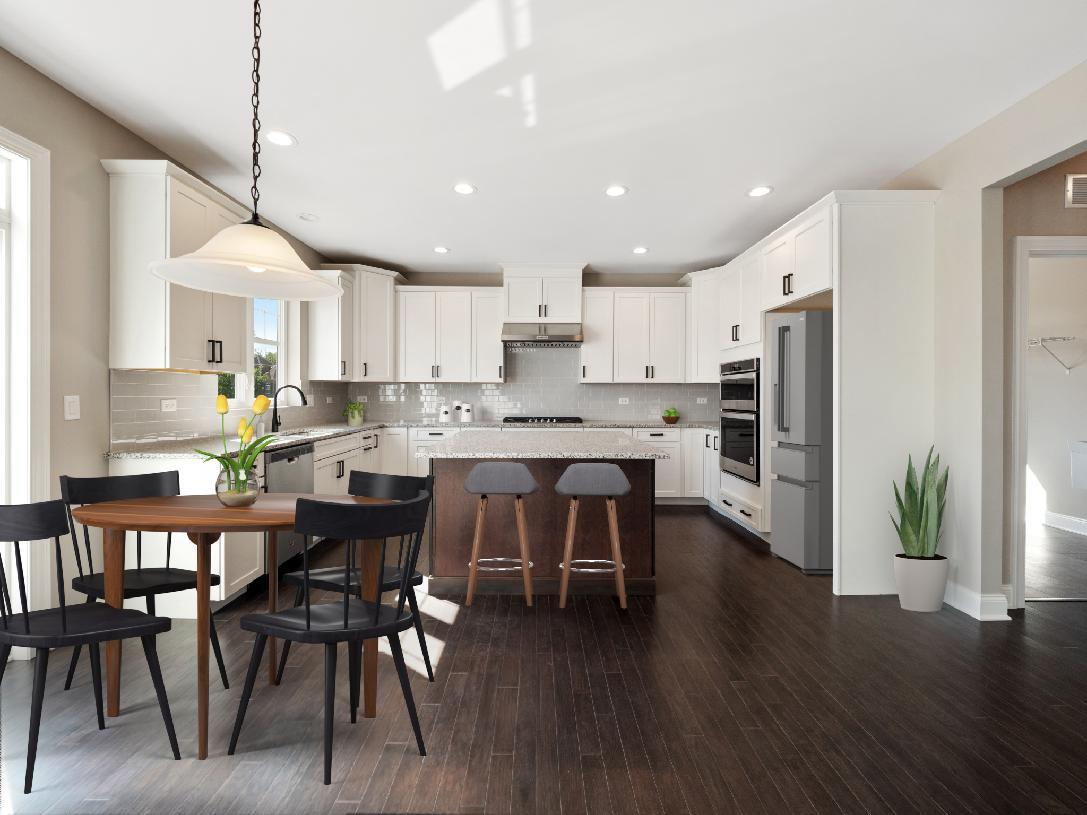 Kitchen featured in the Palmerton By Toll Brothers in Detroit, MI