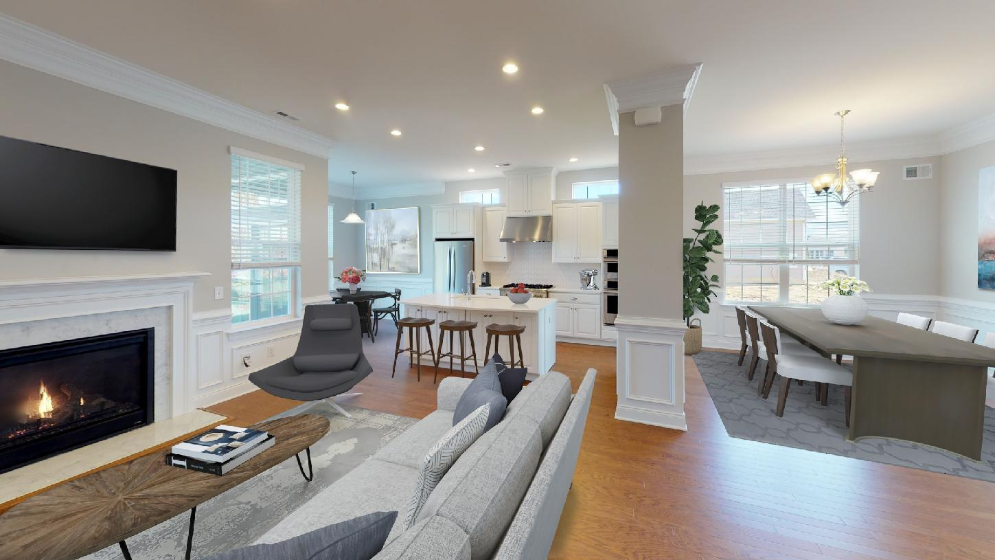Living Area featured in the Wyndwood By Toll Brothers in Chicago, IL