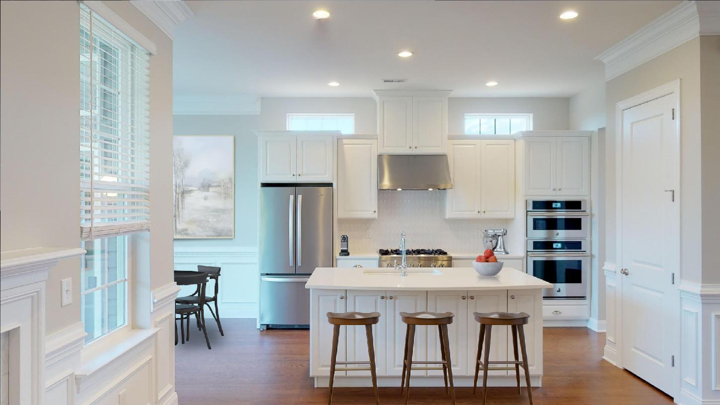 Kitchen featured in the Wyndwood By Toll Brothers in Chicago, IL