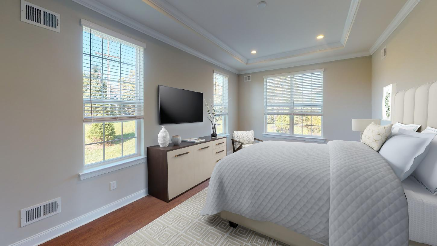 Bedroom featured in the Welland By Toll Brothers in Detroit, MI