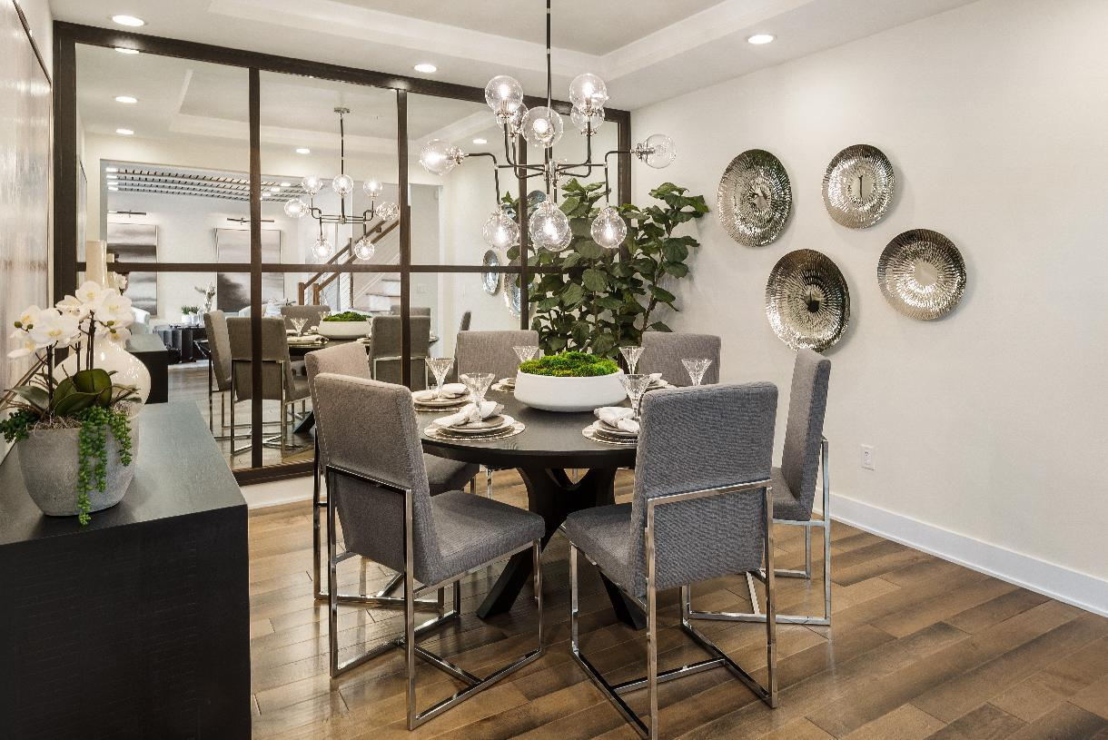 Kitchen featured in the Abram By Toll Brothers in Boston, MA