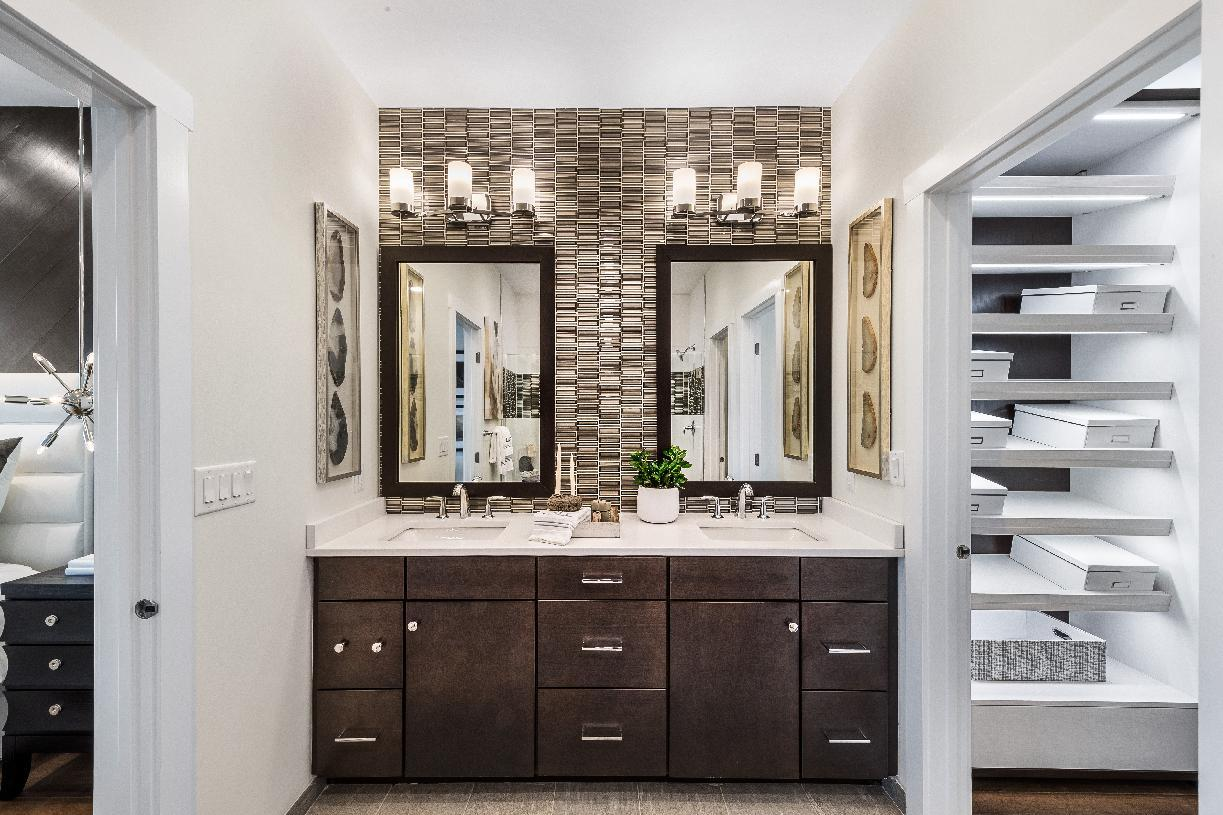 Bathroom featured in the Abram By Toll Brothers in Boston, MA