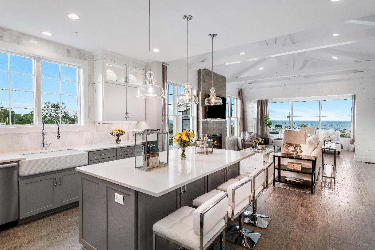 Kitchen featured in the Barron By Toll Brothers in Boston, MA
