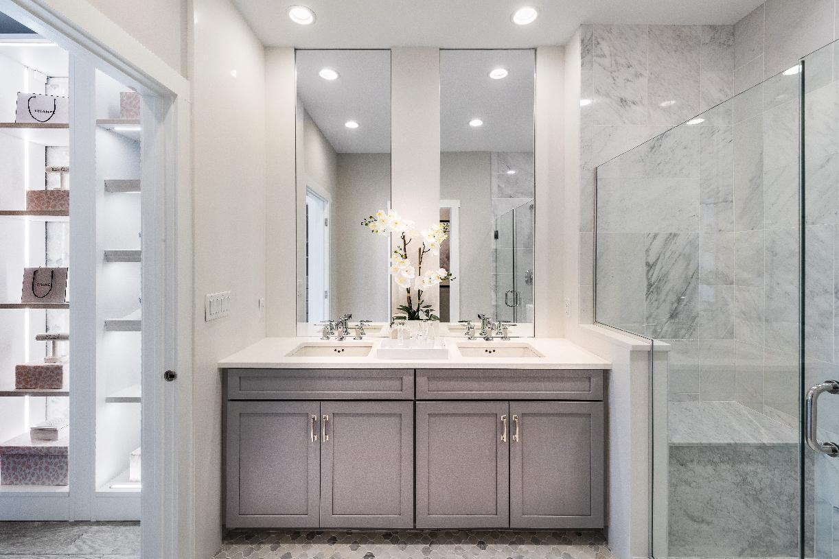 Bathroom featured in the Barron By Toll Brothers in Boston, MA
