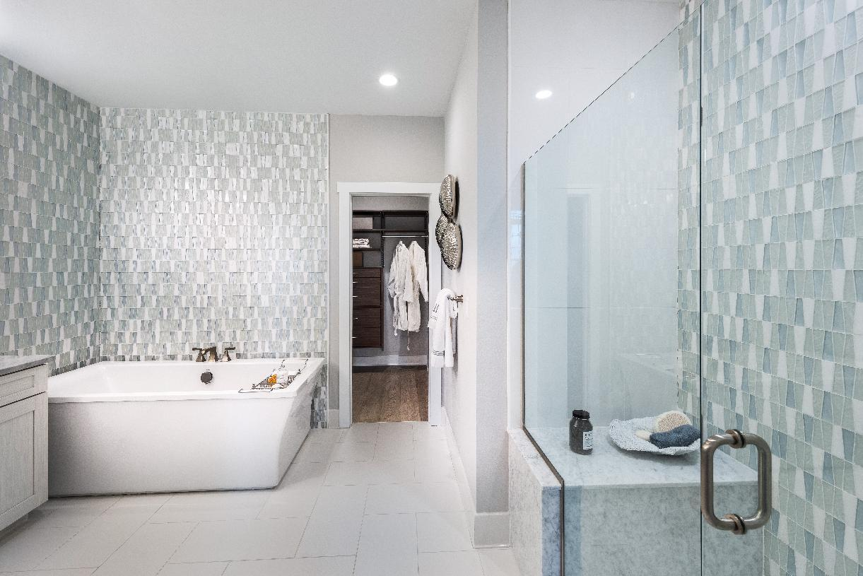 Bathroom featured in the Vaughn By Toll Brothers in Boston, MA
