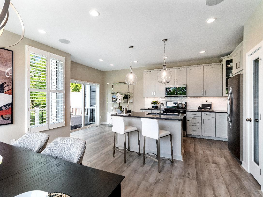 Kitchen featured in the Bethesda By Toll Brothers in Ann Arbor, MI