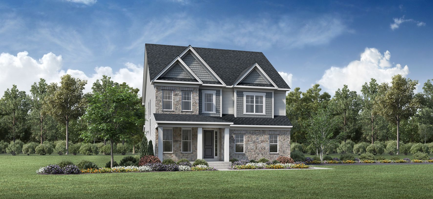 Exterior featured in the Forge By Toll Brothers in Philadelphia, PA