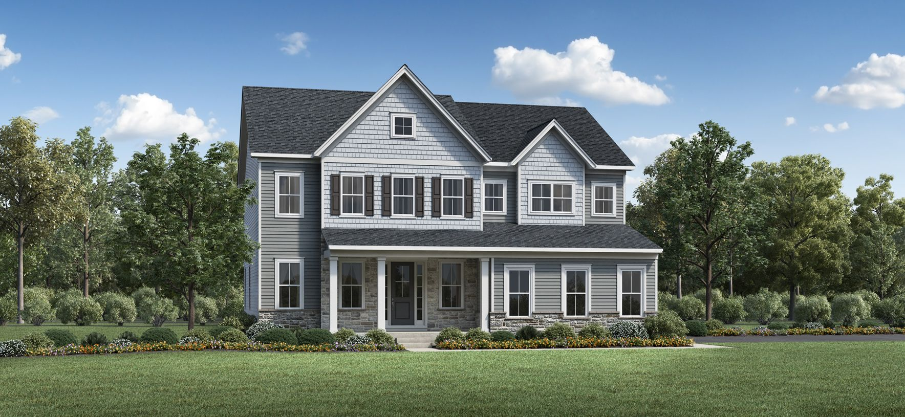 Exterior featured in the Lyndell By Toll Brothers in Philadelphia, PA