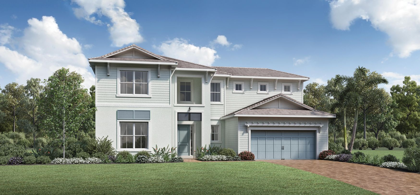 Exterior featured in the Jennings By Toll Brothers in Palm Beach County, FL
