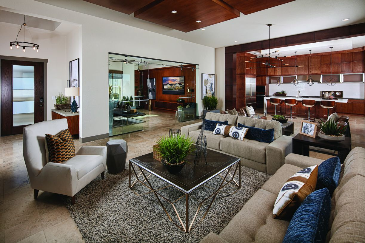 Living Area featured in the Baldwin By Toll Brothers in Las Vegas, NV