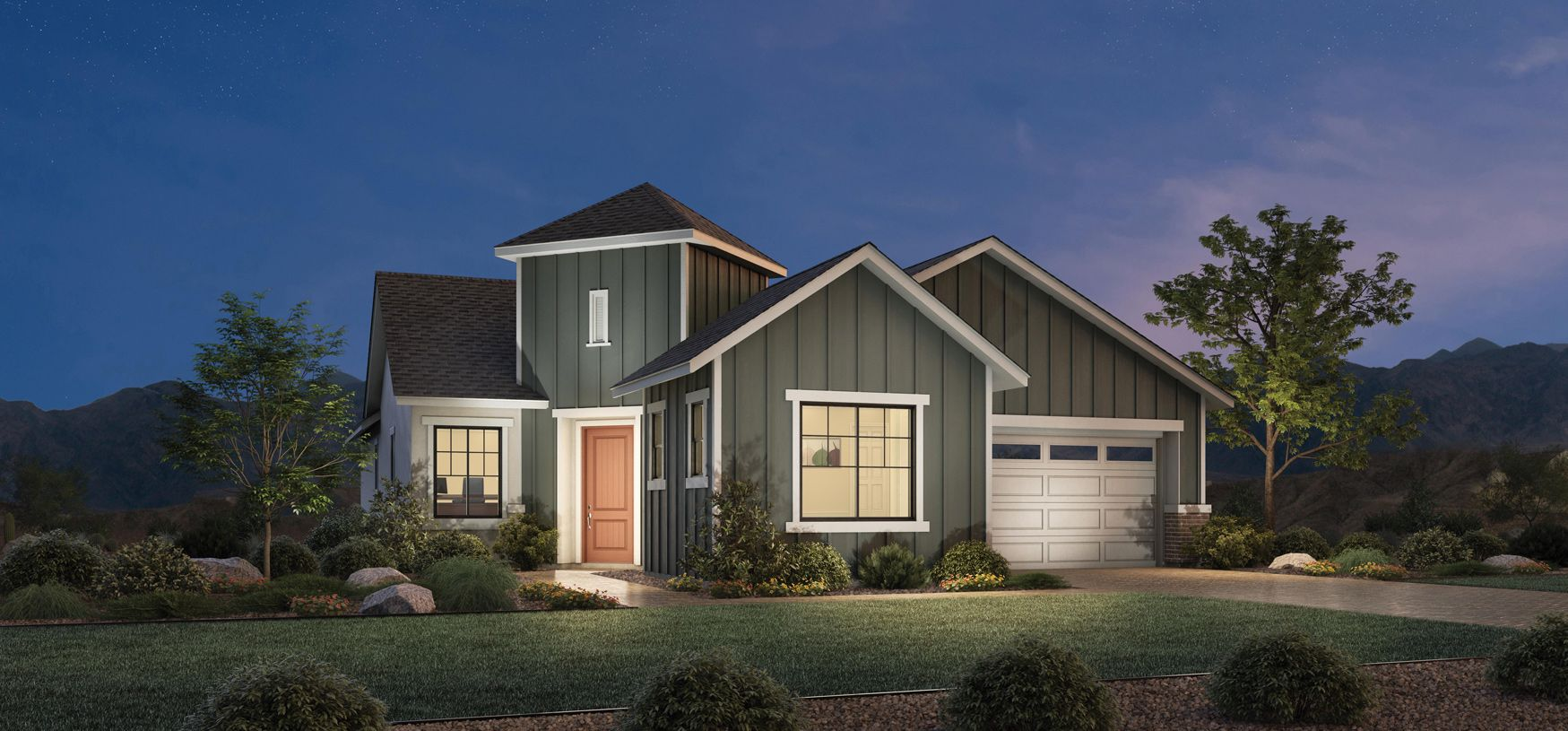 Exterior featured in the Cambria By Toll Brothers in Reno, NV