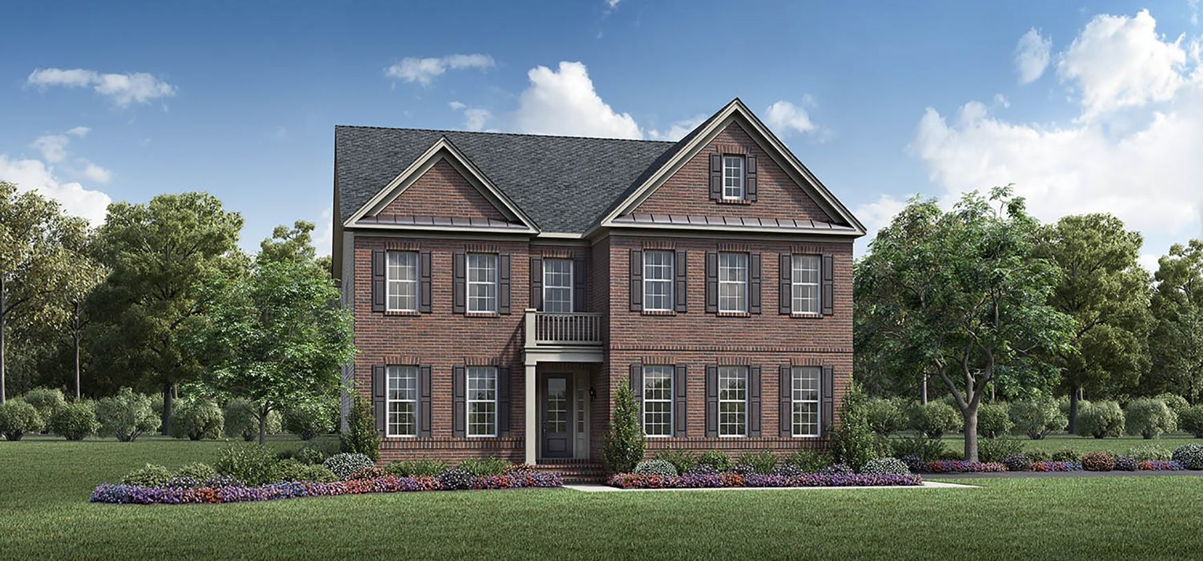 Exterior featured in the Ahrens By Toll Brothers in Washington, VA