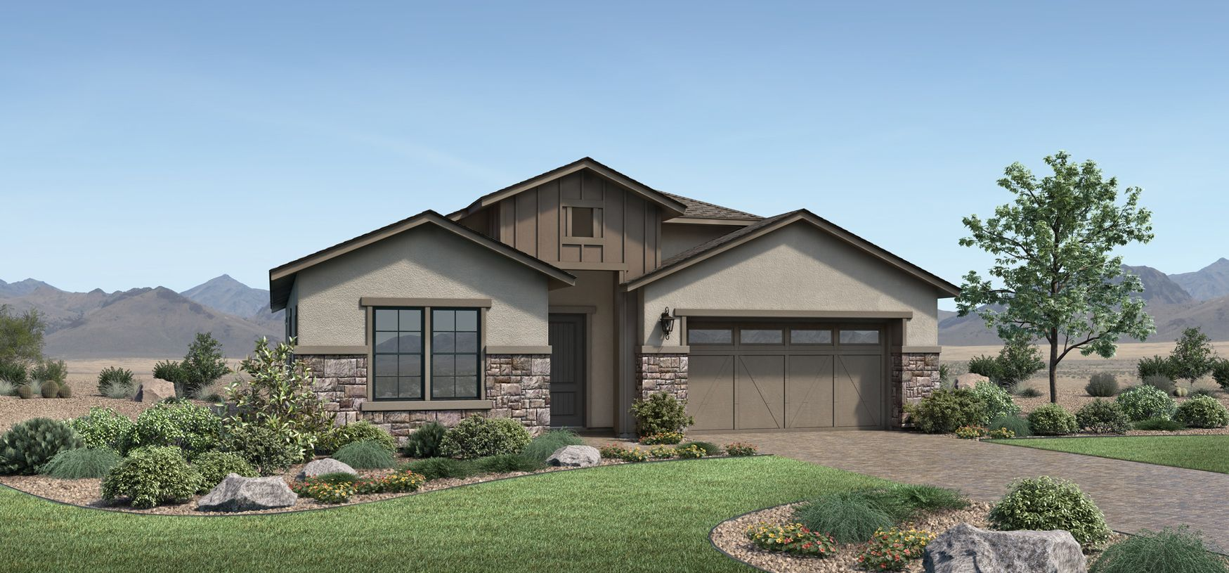 Exterior featured in the Aberdeen By Toll Brothers in Reno, NV