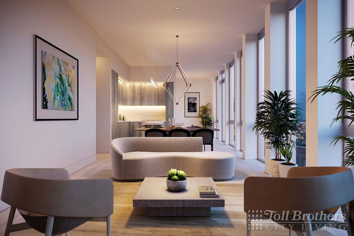 Living Area featured in the S8A By Toll Brothers in New York, NY