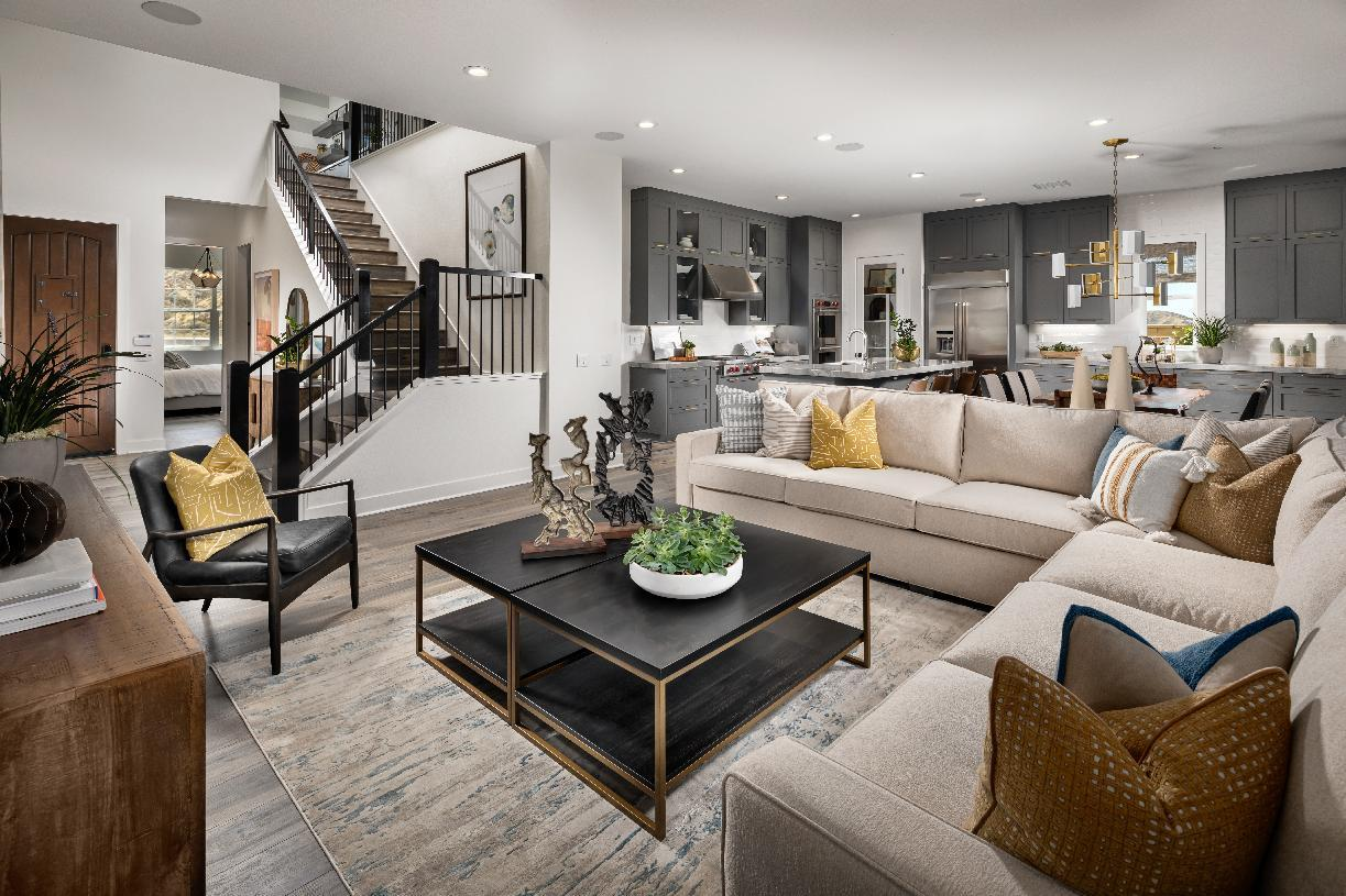Living Area featured in the Mellini By Toll Brothers in Los Angeles, CA