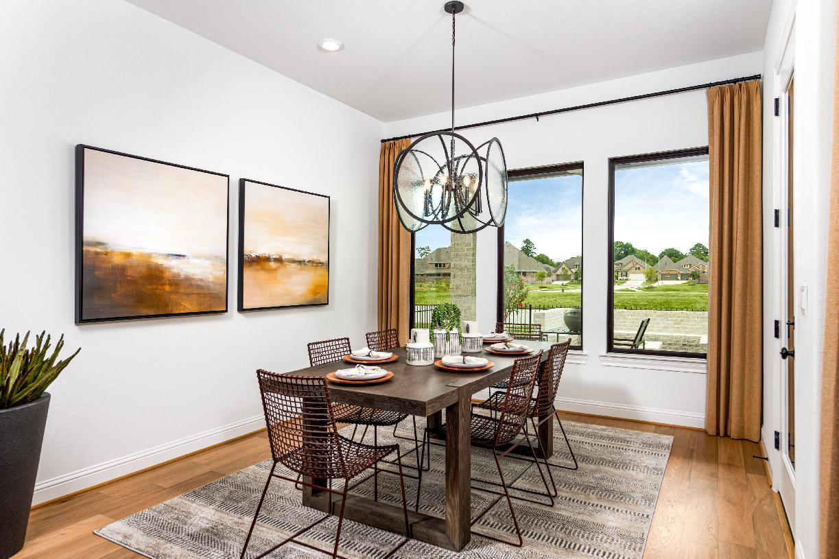 Kitchen featured in the Turner By Toll Brothers in Houston, TX