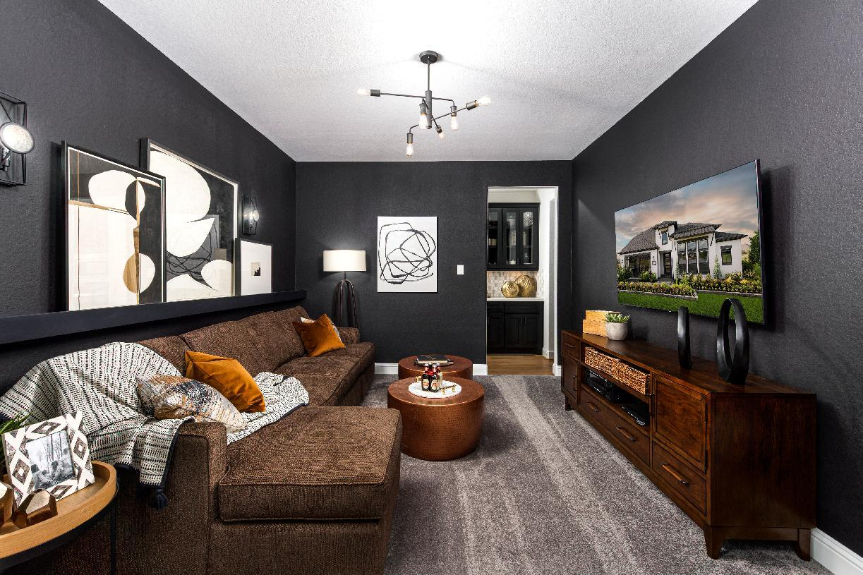 Living Area featured in the Turner By Toll Brothers in Houston, TX