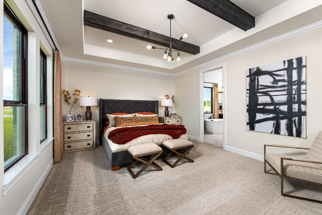 Bedroom featured in the Turner By Toll Brothers in Houston, TX