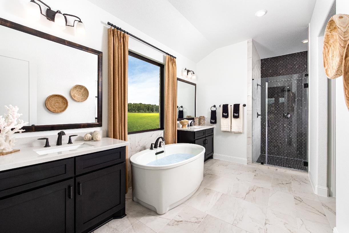 Bathroom featured in the Turner By Toll Brothers in Houston, TX