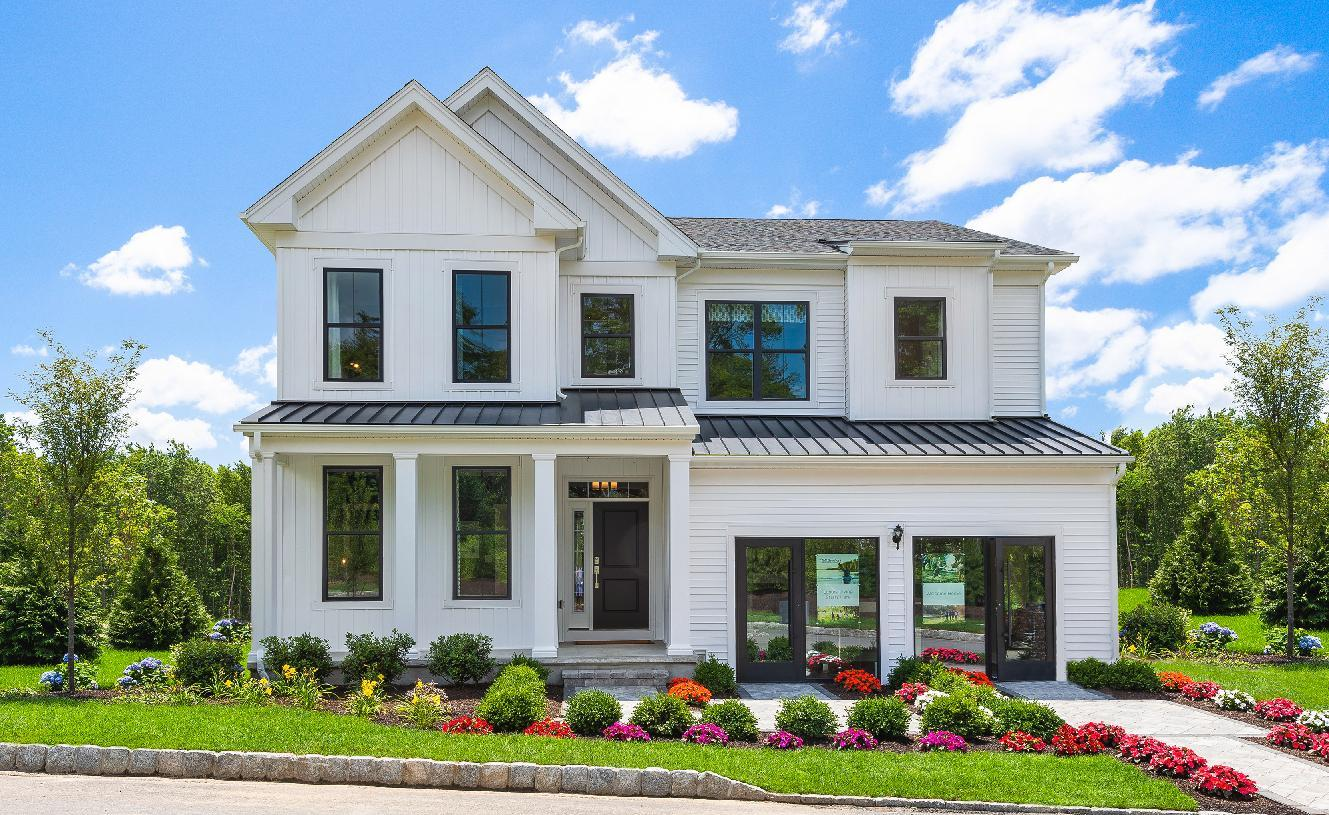 Exterior featured in the Saybrook By Toll Brothers in Danbury, CT