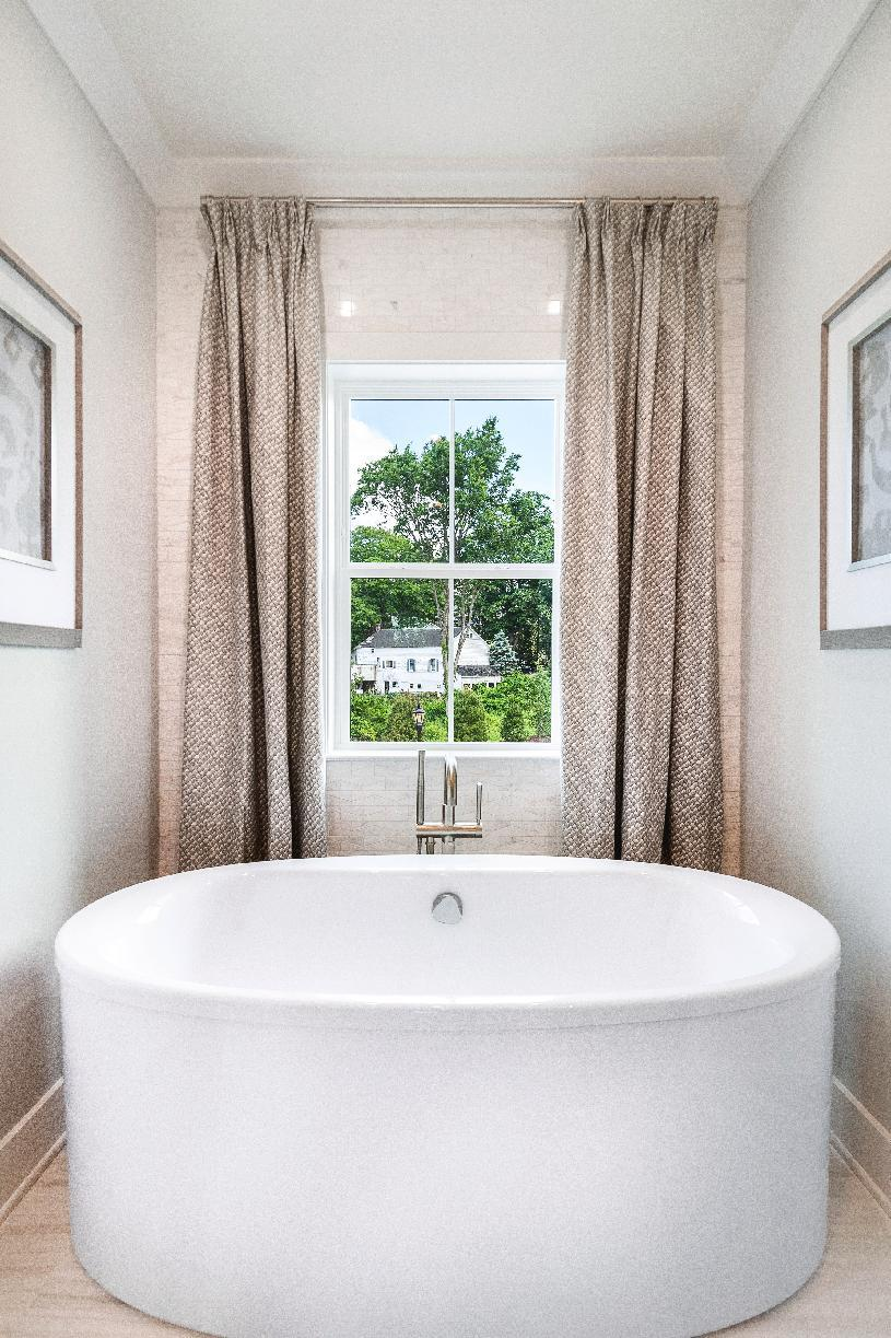 Bathroom featured in the Saybrook By Toll Brothers in Danbury, CT