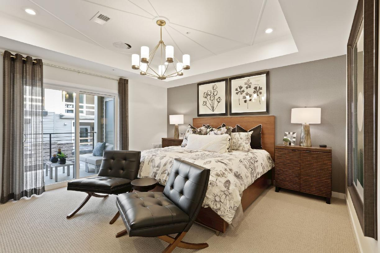 Bedroom featured in the Sully By Toll Brothers in Washington, VA