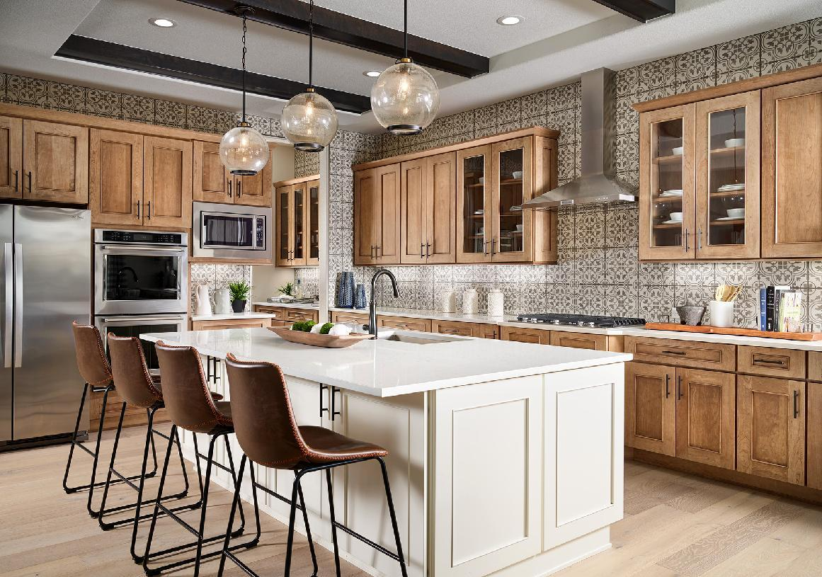 Kitchen featured in the Dillon By Toll Brothers in Denver, CO