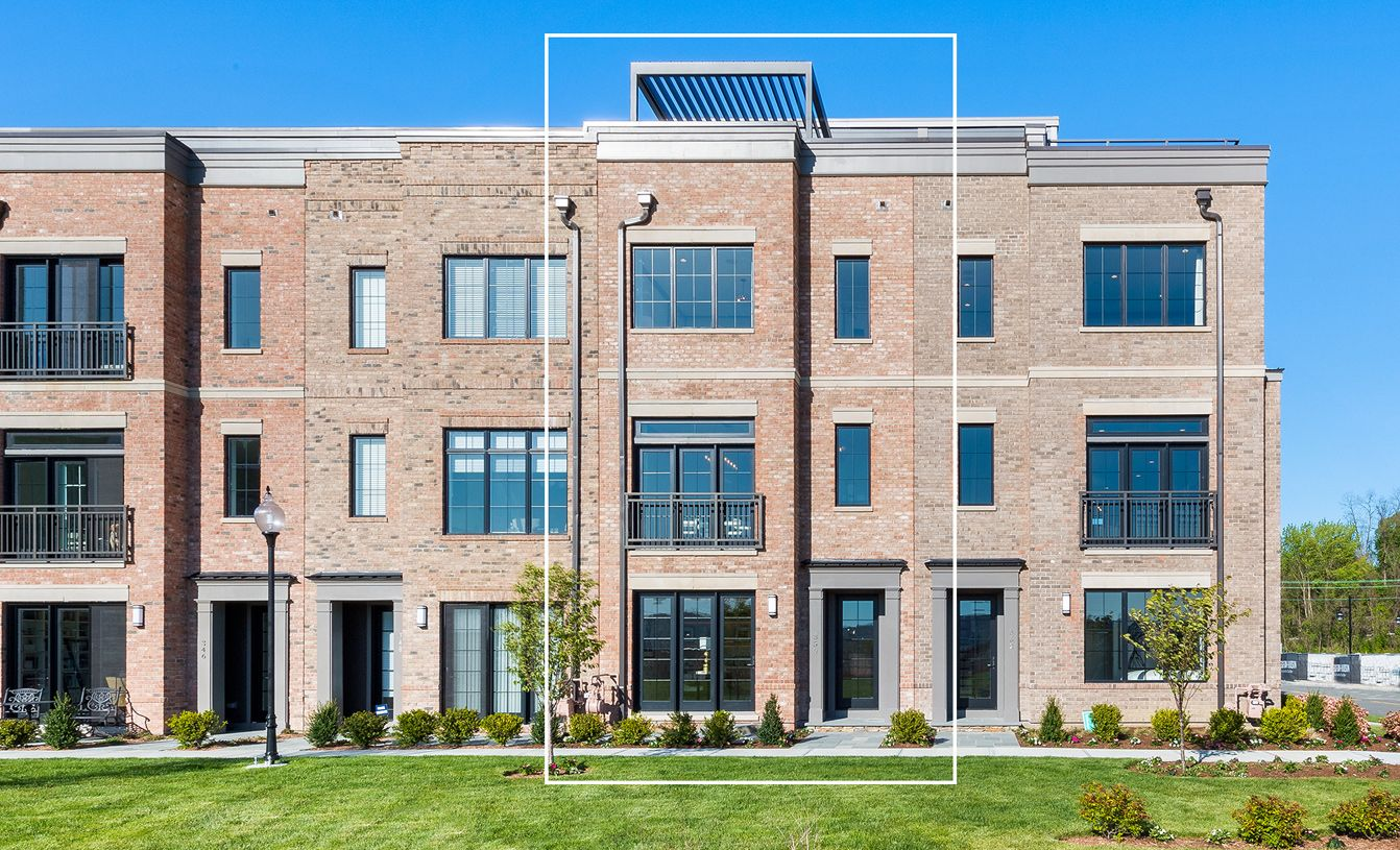 Exterior featured in the Carroll By Toll Brothers in New York, NY
