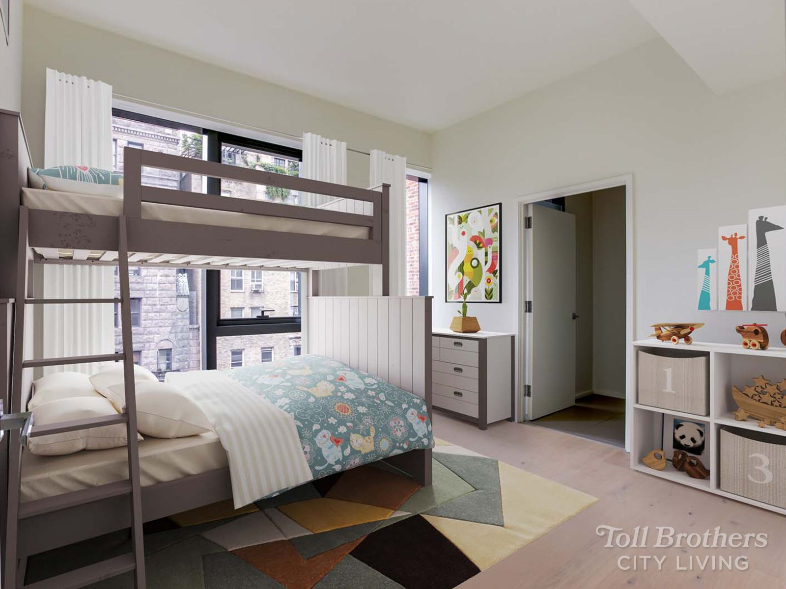 Bedroom featured in the SPH By Toll Brothers in New York, NY
