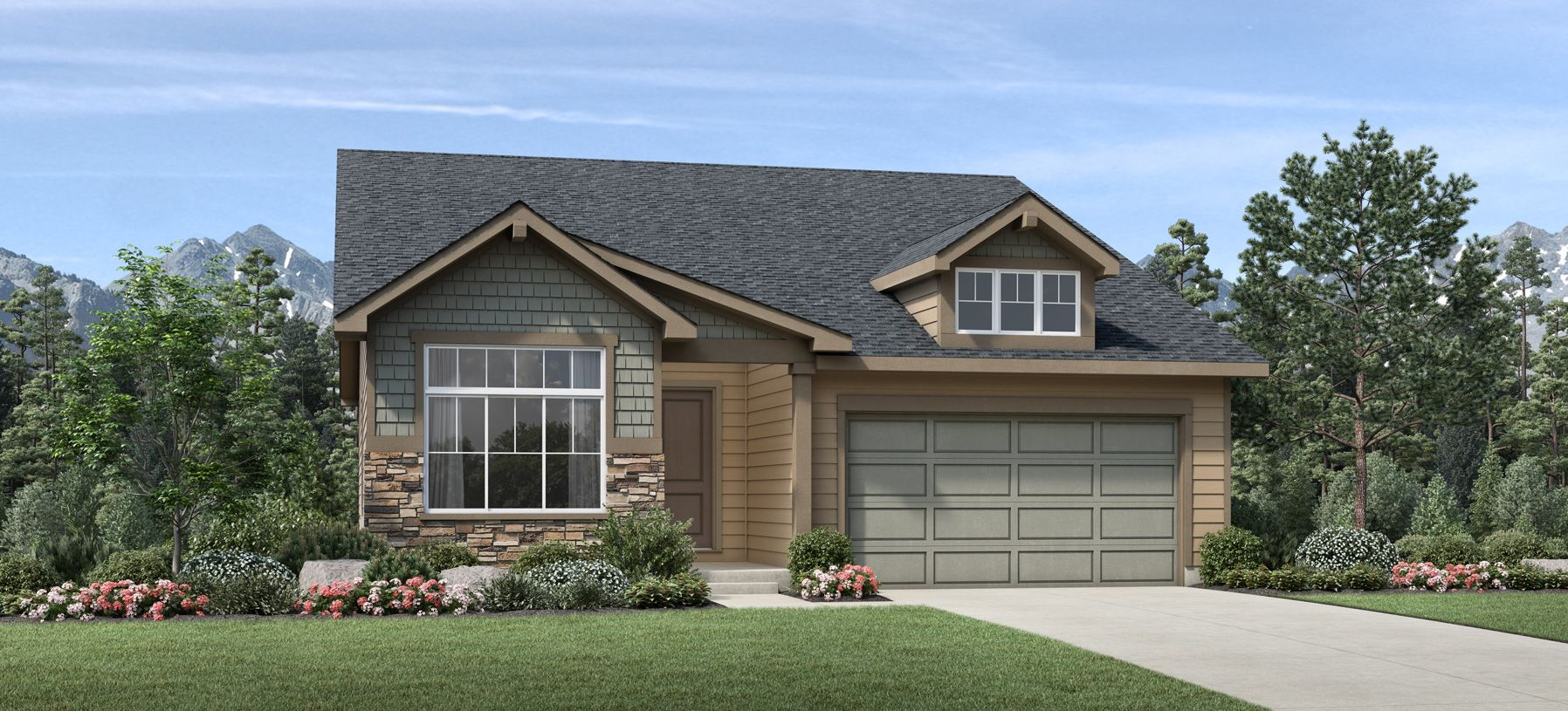 Exterior featured in the Boyd By Toll Brothers in Denver, CO