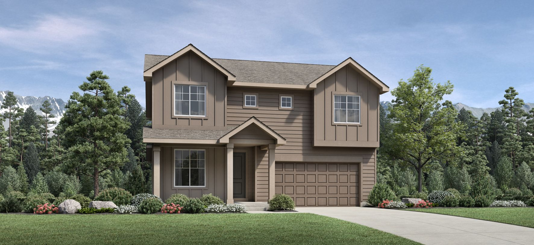 Exterior featured in the Lathrop By Toll Brothers in Denver, CO