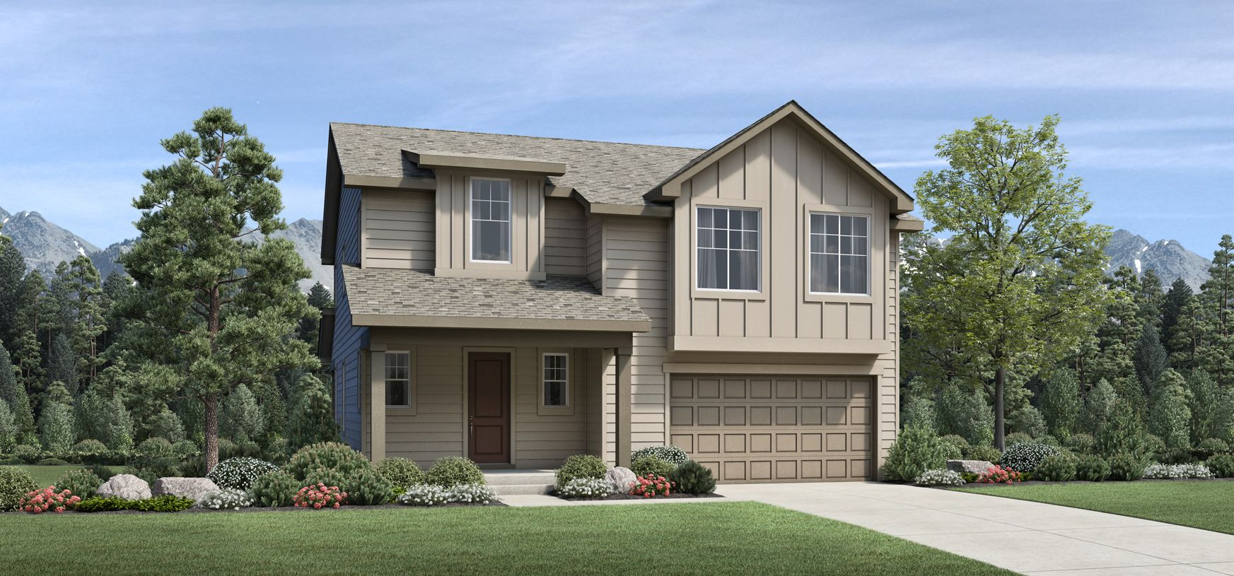 Exterior featured in the Eldorado By Toll Brothers in Denver, CO