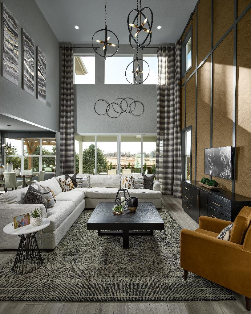Living Area featured in the Eldorado By Toll Brothers in Denver, CO
