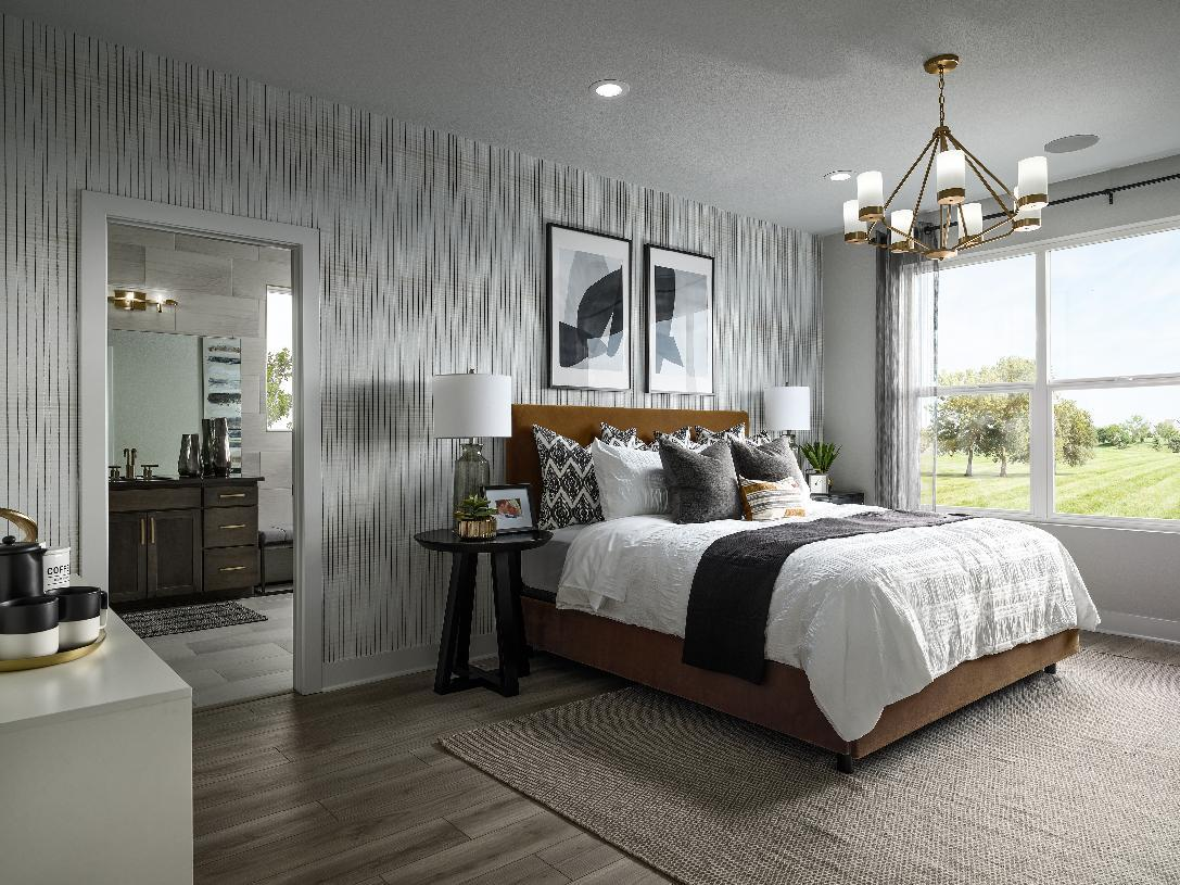 Bedroom featured in the Eldorado By Toll Brothers in Denver, CO